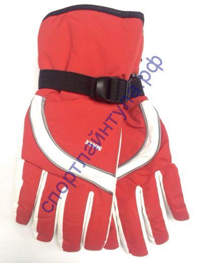 Перчатки женские MAXX красные